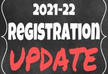 2021 22 Registration