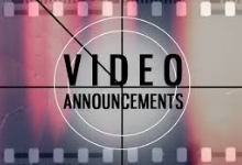 Video Announcements