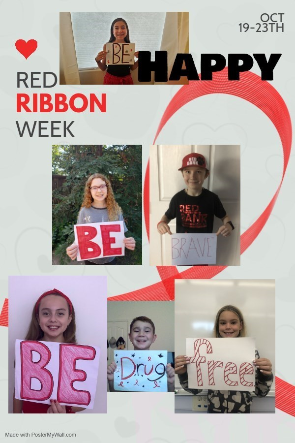 Student Council Red Ribbon Message